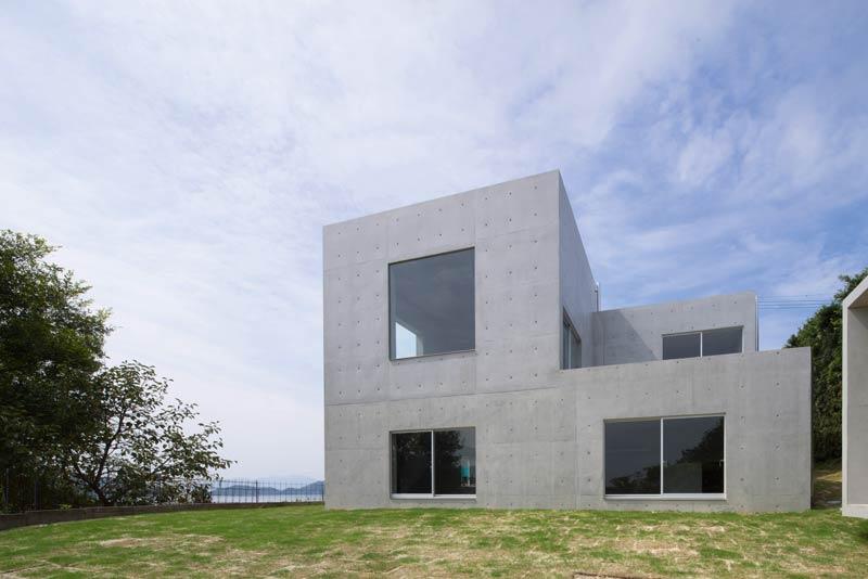 Meister Architektur alles aus beton im akitsu house architektur architektur
