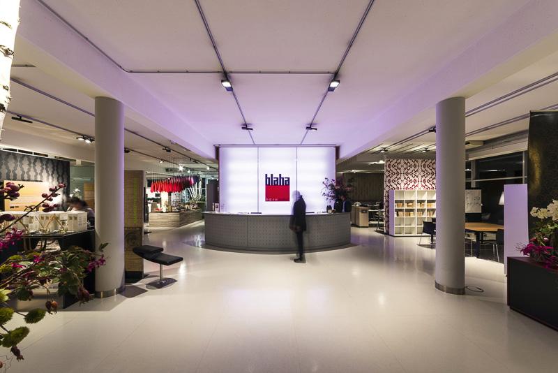 Licht Büro erco strahler option für blaha architektur