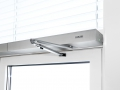 Powerturn swing door drive