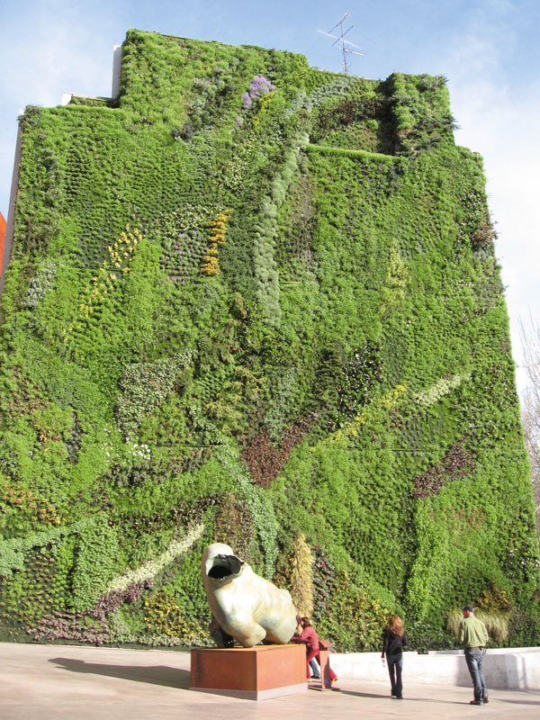 Gr ne fassaden gesundes stadtklima architektur online for A la verticale du jardin grenoble