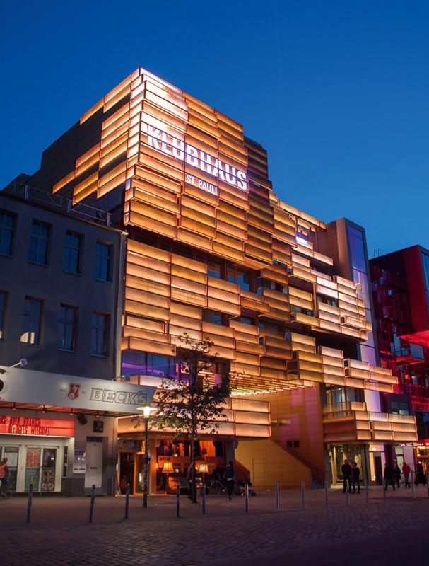 klubhaus st pauli in hamburg architektur online. Black Bedroom Furniture Sets. Home Design Ideas