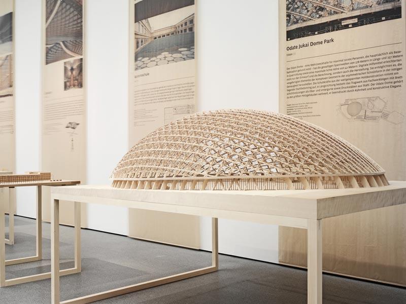 Ausstellung bauen mit holz 2016 architektur online for Bauen mit holz