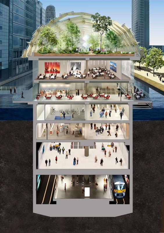 Ein Dachgarten Auf Der U Bahn Architektur Online