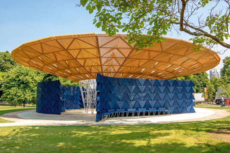 Pavillon Regenschutz Sammlung : Architektur für morgen online :
