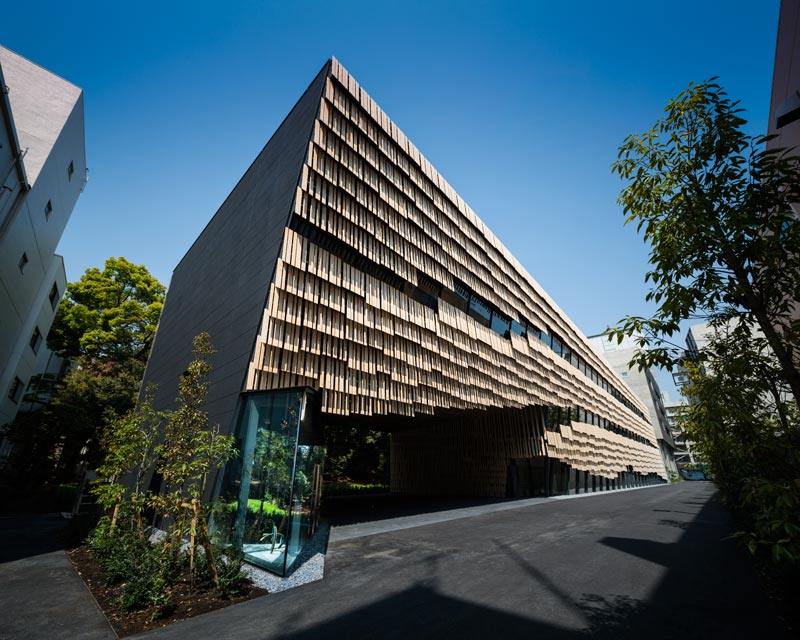 University of tokyo architektur online for Japanische architektur holz