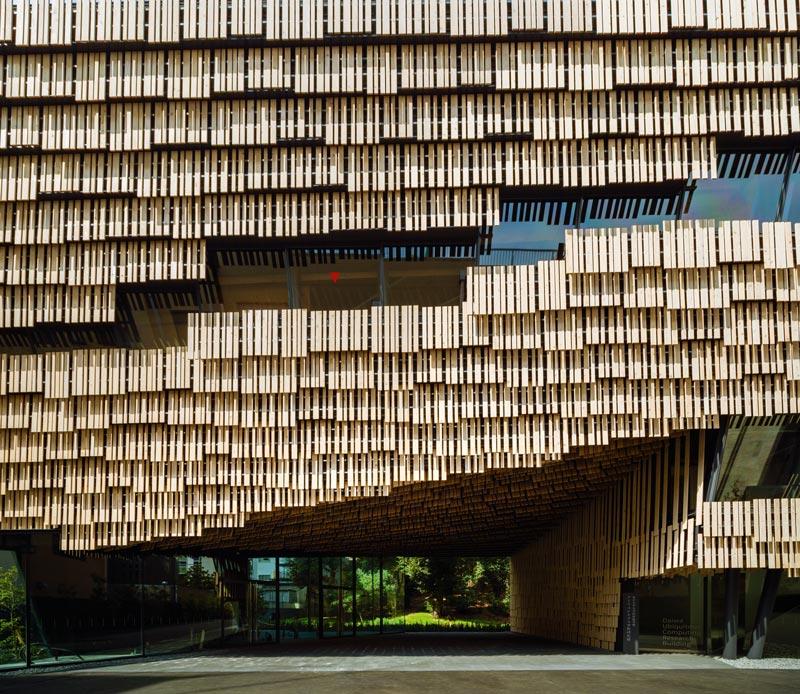 University of tokyo architektur online for Japanische architektur holz