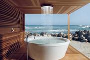 Das Badezimmer von morgen - groß, grün und trendig!