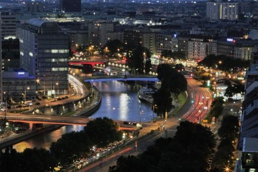 Neue Beleuchtung der MA33 - Wien leuchtet