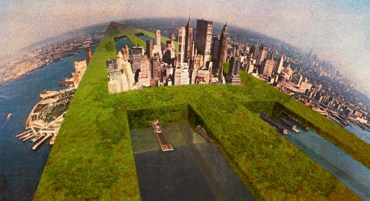 Il Monumento Continuo e Sostenibile, New York