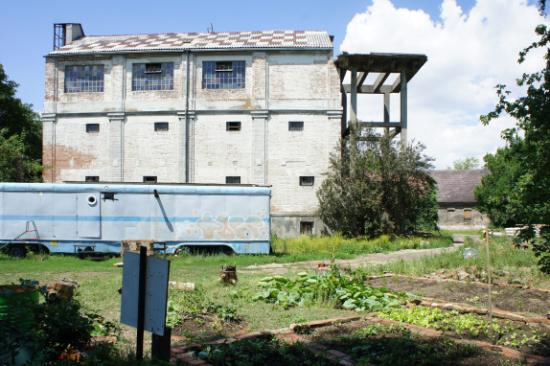 Dreherhaus mit neuem Gemeinschaftsgarten