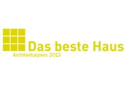 Das Beste Haus. Architekturpreis 2013