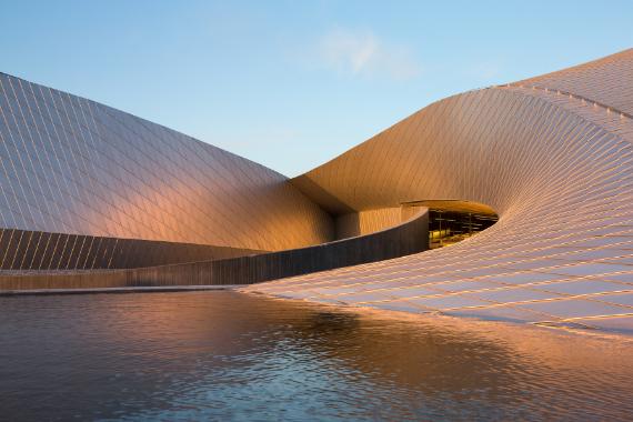 aquarium kopenhagen blue planet architektur online architektur online. Black Bedroom Furniture Sets. Home Design Ideas