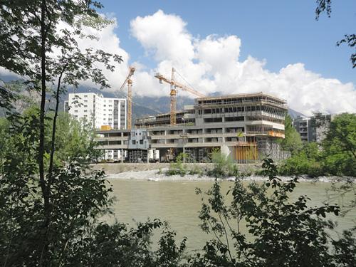 Artec architekten wohnheim olympisches dorf innsbruck for Architektur innsbruck