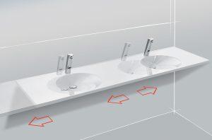 Waschbecken Grafik