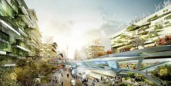 Stadt der Zukunft