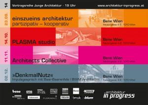 architektur in progress Flyer