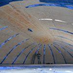 Eine Betonkuppel zum Aufblasen