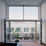 Platzwunder Glas-Faltwand