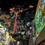 Die weltweit größte Uhr und ihre Beleuchtung