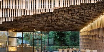 Japanische Holztastatur