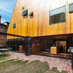 Ein ganz schmales  Haus