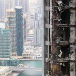 Wenn ein Skyscraper brennt