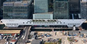 Ein Dachgarten auf der U-Bahn