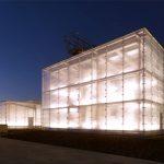 Strukturglas für das Museum Kattowitz