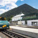 Neuer Bahnhof am Schneeberg