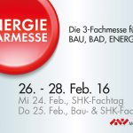 Energiesparmesse 2016 – Baukongress neuLand