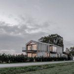 Niedrigenergiehaus 'angle house' fertiggestellt