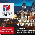 Europäisches Habitat Prag 2016