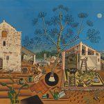 Joan Miro. Wandbilder, Weltenbilder