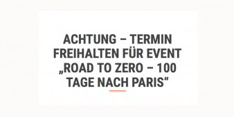 Road to Zero – 100 Tage nach Paris