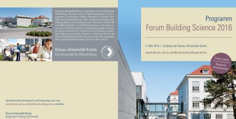 Forum Building Science 2016