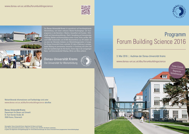 forum_building_science 2016