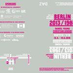 Ausstellung Berlin 2013/1983