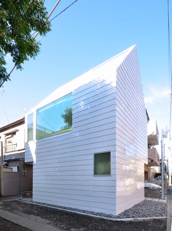 Mietwohnhaus in tokyo architektur online architektur - Dachformen architektur ...