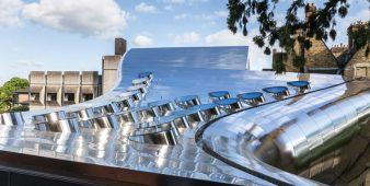 Freiformfassade – Investcorp Building