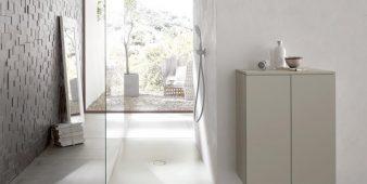 Die Duschfläche als Teil des Badbodens