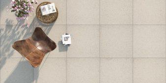 Friedl mit neuen Terrassenplatten auf der Design 2016