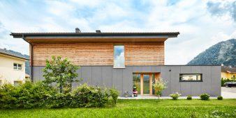 Einfamilienhaus ganz aus Holz