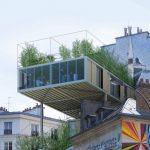Außergewöhnlicher Dauchausbau in Paris