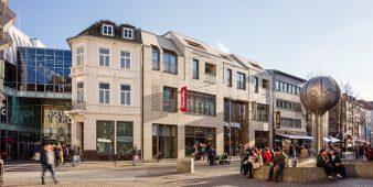 Neubau in der Aachener Innenstadt