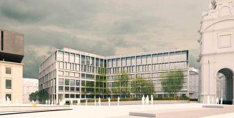 Das Winterthur-Gebäude am Karlsplatz
