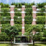 Das grüne Hotel der Vo Trong Nghia Architekten
