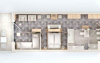 Flexible Raumaufteilung im Cavallino Bianco