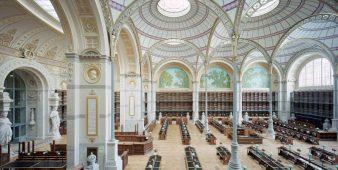 Richelieu Quadrat in der Französischen Nationalbibliothek