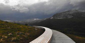 Grandioses Panorama mit barrierefreiem Aussichtspfad