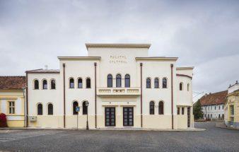 Kulturpalast Palatul Cultural in Blaj Rumänien